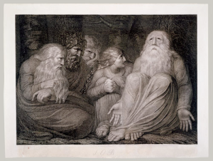 Engraving by William Blake, 1793