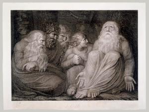 Engraving by William Blake, 1793
