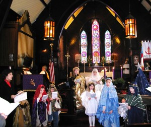 The Christmas Pageant is for children but proclaims the truth of Christmas--do not be afraid.