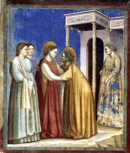 The Visitation by Giotto