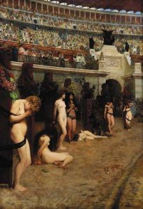 Christians and Lions  Herbert Gustave Schmalz