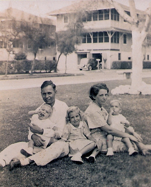 Bellais Family Panama 1935