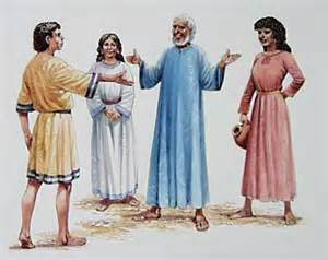 Jacob,Rachel,Leah,Laban