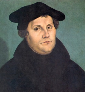 Sola scriptura was one of the main theological beliefs that Martin Luther proclaimed against the Catholic Church during the Protestant Reformation