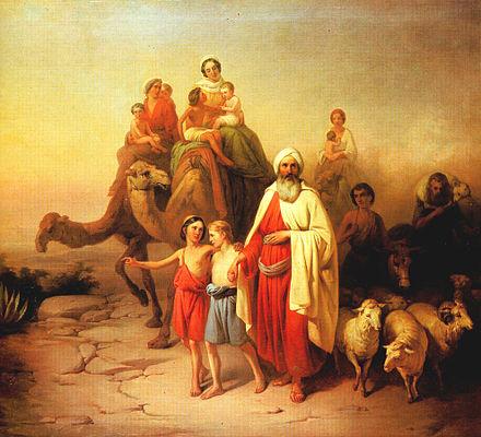 Abraham by Joseph Molnar, 1850