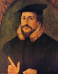 John (Jean) Calvin by Holbein the Younger