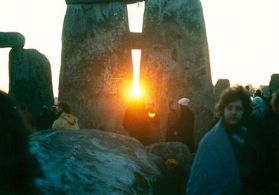 Winter Soltice-Sunrise at Stonehenge