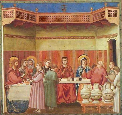 Giotto, Scrovegni, Marriage at Cana