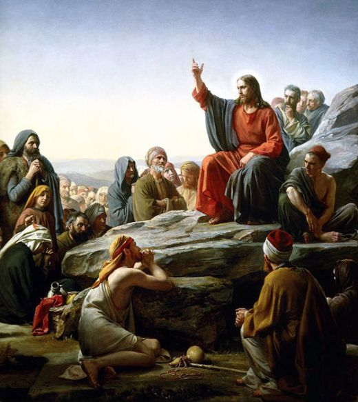 Sermon on the Mount-Carl Bloch