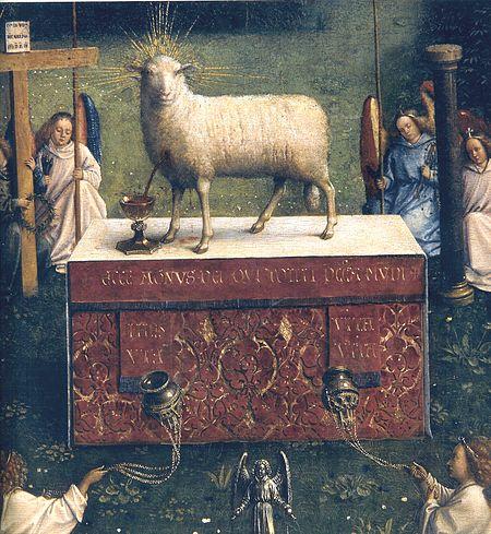 Ghent Altarpiece-Lamb
