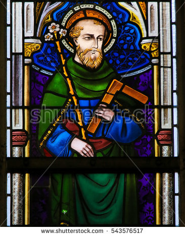 stock-photo-ghent-belgium-december-stained-glass-depicting-saint-joseph-holding-a-lily-and-543576517